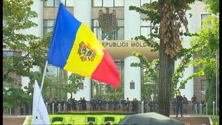 Протесты в Молдавии