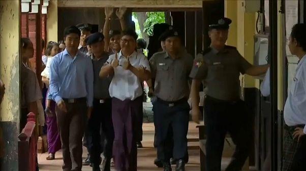 """تأجيل إصدار الحكم على صحفيين من رويترز في ميانمار """"بسبب مرض القاضي"""""""