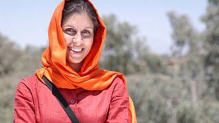 Nazanin Zaghari-Ratcliffe seen in a family photo