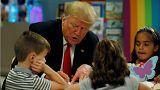 Donald Trump rosszul színezte ki az amerikai zászlót