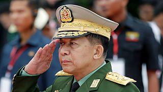 Chefe das Forças Armadas da antiga Birmânia está no foco da acusação