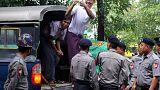 Verdict reporté pour les journalistes birmans