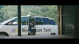 شاهد: اختبار أول سيارة أجرة ذاتية القيادة في شوارع طوكيو