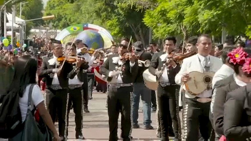 Mariachi-fesztivál Mexikóban