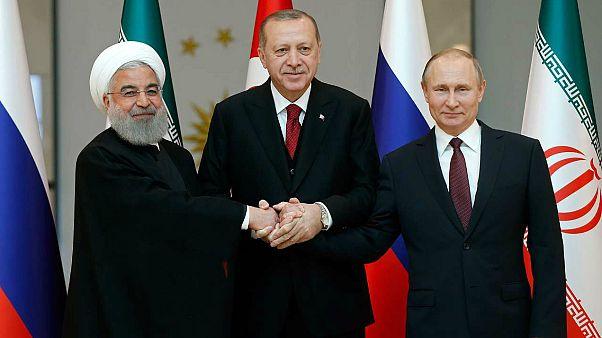 نشست رهبران ترکیه، روسیه و ایران-آنکارا/ آوریل ۲۰۱۸