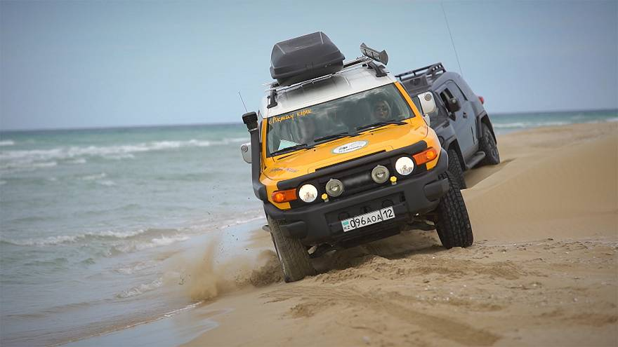 Off-road adventures in Kazakhstan: From the Caspian Sea to the Black Mountain