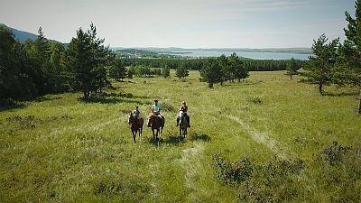 Burabay National Park: Wild nature best explored on horse back