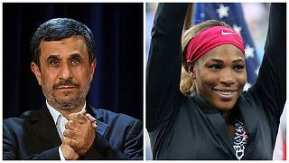 واکنش احمدی نژاد به ممنوعیت پوشش سرنا ویلیامز در مسابقات تنیس آزاد فرانسه
