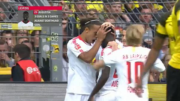 Bundesliga: parte bene il Borussia Dortmund, 4-1 al Lipsia
