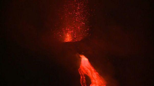 [Vidéo] Impressionnante éruption de l'Etna