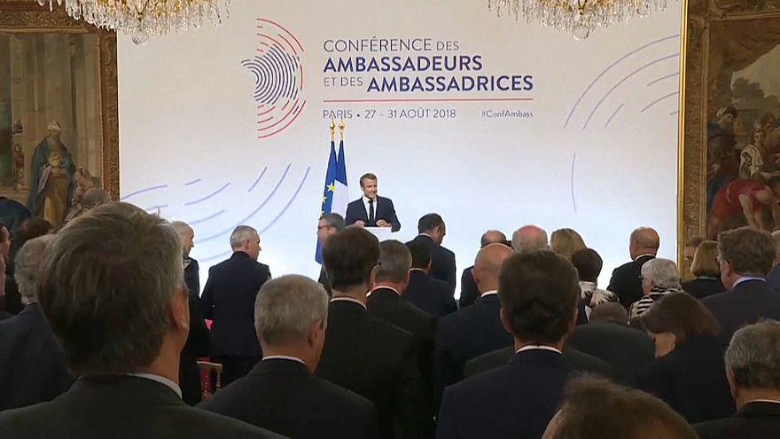 """Macron defende """"soberania europeia"""" sem dependência dos EUA"""