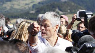Laurent Wauquiez, président du parti Les Républicains en France
