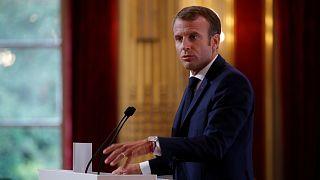 ماكرون يقول إن البريكست لا يجب أن يؤدي إلى انشقاقات داخل الاتحاد الأوروبي