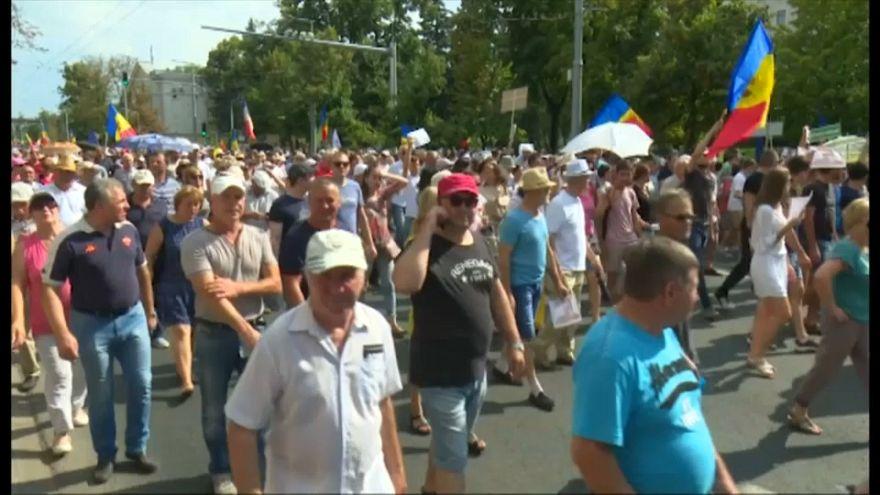 Moldavia: proteste in nome della democrazia