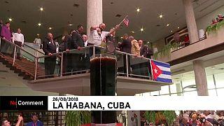 Gigantischer Cocktail: Cuba Libre