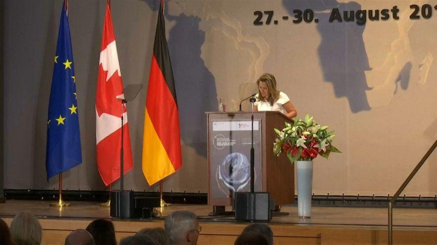Kanada Suudi Arabistan'a karşı Almanya'dan destek istedi