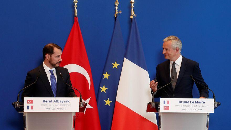Bakan Albayrak'tan Fransa'da AB ile ilişkilerde yeni dönem mesajı