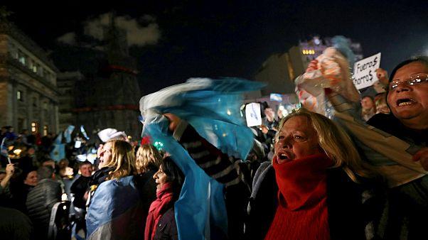 Arjantin yolsuzluk karşıtı gösteri