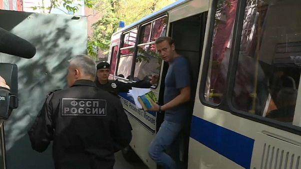 Alexei Navalny condenado a 30 dias de prisão