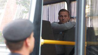 Vor Protesttag: Kremlkritiker Nawalny muss 30 Tage in Haft