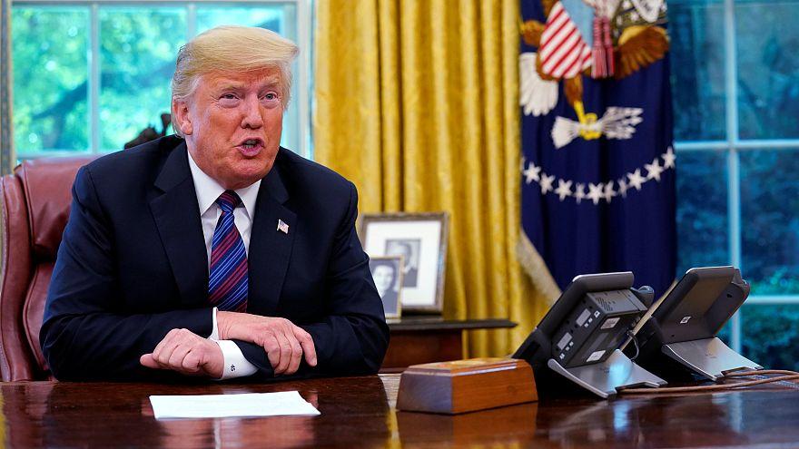 Trump confirma un acuerdo con México sobre TLCAN
