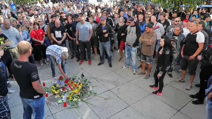 أعمال عنف ومظاهرات ضد الأجانب في ألمانيا بعد مقتل شاب طعنا بالسكين