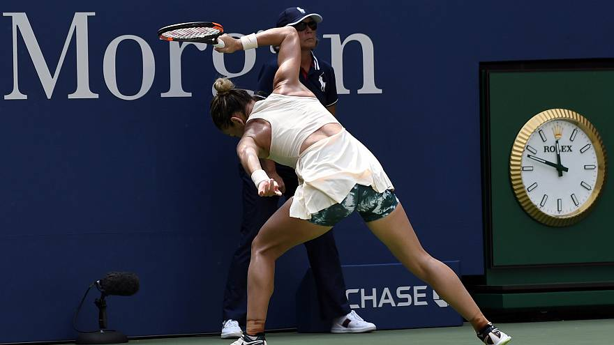 1 numara Simona Halep Amerika Açık'a ilk turda veda etti