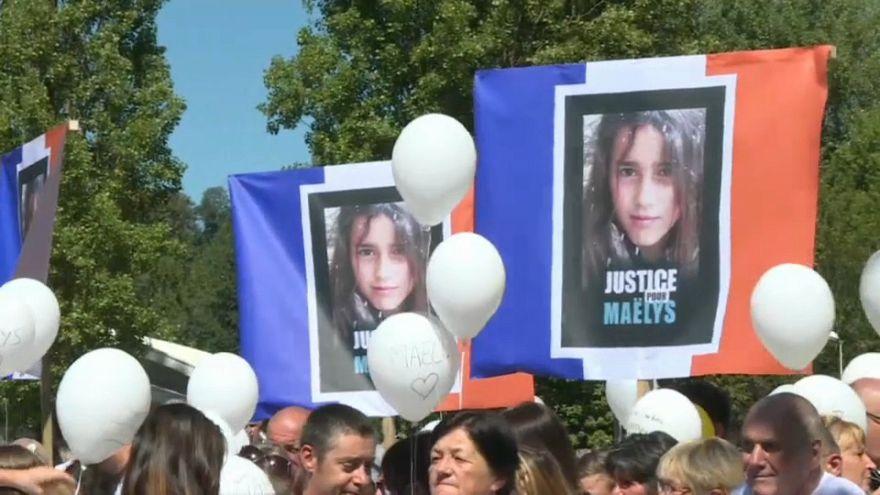 """1 Jahr nach Verschwinden des Mädchens: """"Gerechtigkeit für Maëlys"""""""