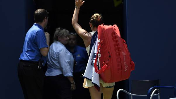 Halep éliminée d'entrée de l'US Open