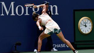 Simona Halep foi eliminada na primeira ronda do Open dos EUA