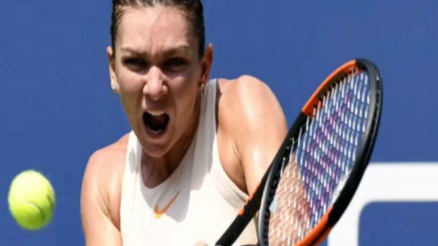 US Open: crolla a sorpresa Halep, bene Murray