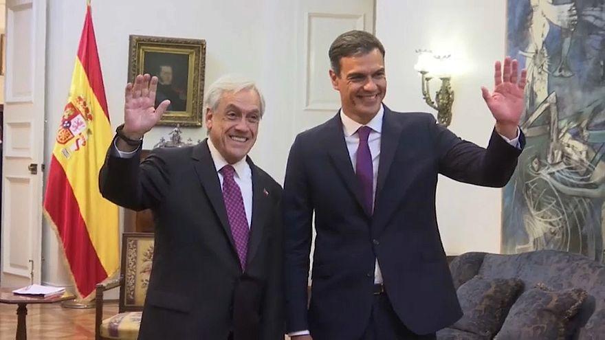 """Sánchez: """"España se siente en deuda con Venezuela"""""""