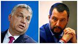 Salvinivel tér vissza a munkához Orbán