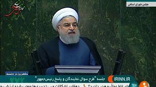 Rohaní contra las cuerdas por la crisis en Irán