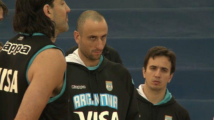Le basketteur argentin Manu Ginobili prend sa retraite