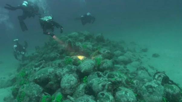 Κροατία: Ανακαλύφθηκε ρωμαϊκό πλοίο με 600 αμφορείς