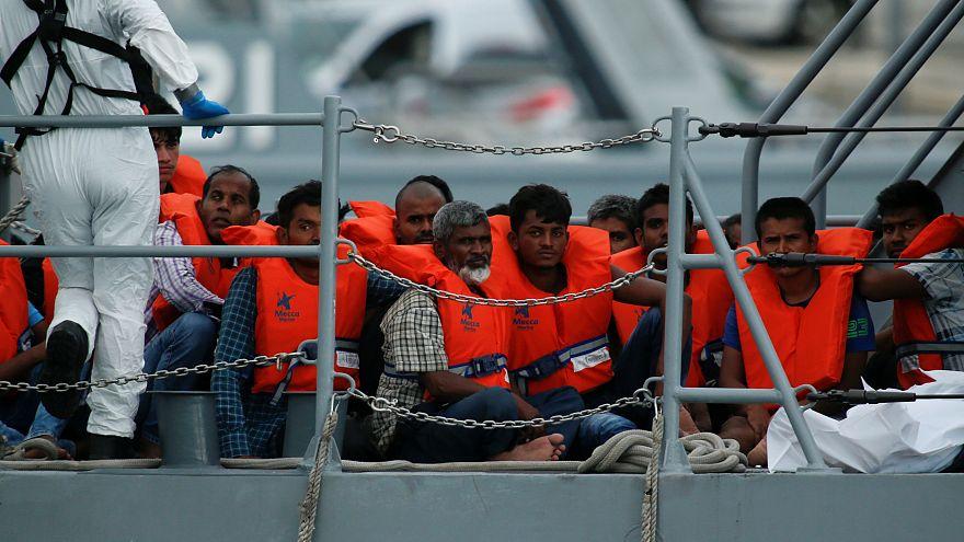 Les variations du flux migratoire en Europe