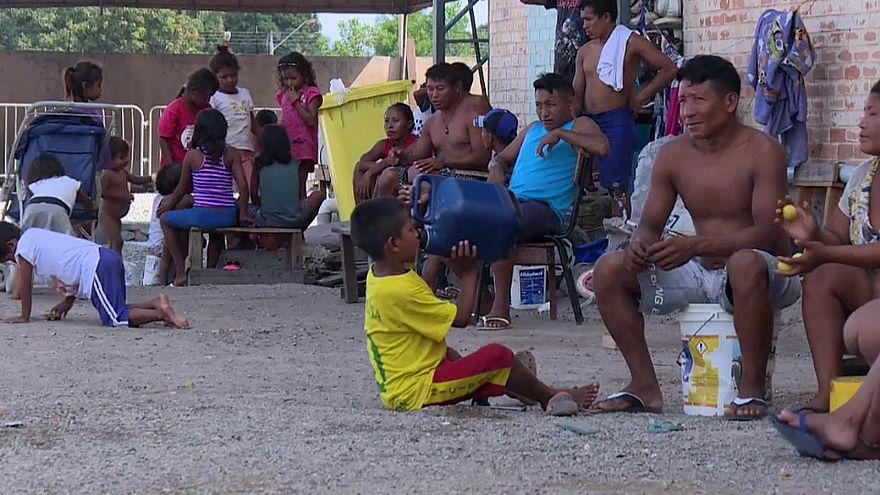Los Warao, los más vulnerables en el éxodo de venezolanos a Brasil