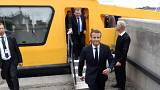 "Macron sur Hulot : ""Je respecte sa liberté"""