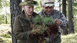 Les vacances champêtres de Vladimir Poutine