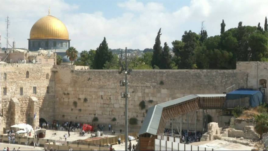 Watch: Notes to God cleared from Jerusalem's Western Wall