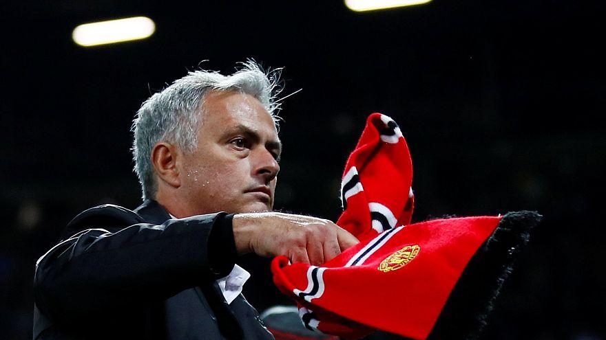 José Mourinho dans une colère noire