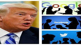 Trump: Google, Facebook ve Twitter çok tehlikeli sularda yüzüyor