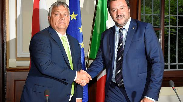 Italian interior minister and Hungarian PM to form anti-migration front
