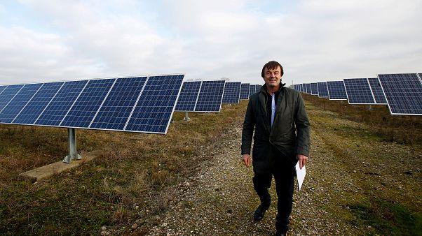 Nicolas Hulot, ministre démissionnaire de la transition écologique