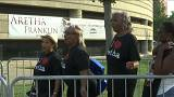 Miles de seguidores empiezan a despedirse de Aretha Franklin