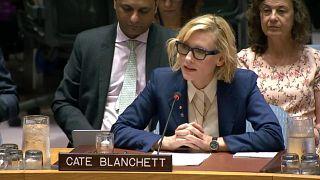 El desgarrador discurso de Cate Blanchett en la ONU