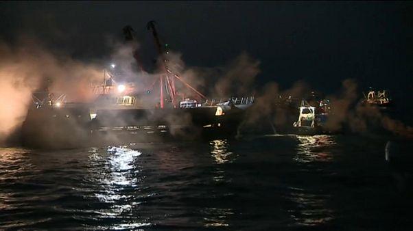 Scontri fra pescatori francesi e britannici nella Manica