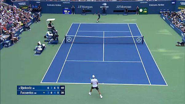 US Open: Fucsovics közel járt a bravúrhoz