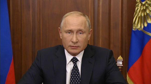 Putin añade ligeras mejoras a la polémica reforma de las pensiones